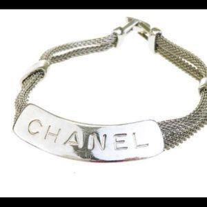 CHANEL Jewelry - Chanel Vintage mesh ID bracelet❤️